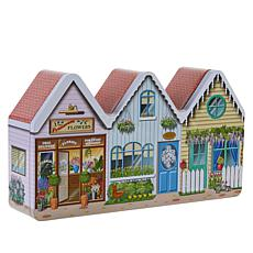 Giannios Candy 3 lb. Assorted Spring Village Chocolate Tin