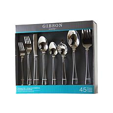 Gibson Home 45-piece Flatware Set
