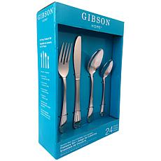 Gibson Home Mariano 24-piece Flatware Set