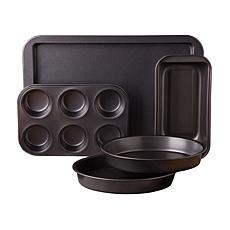 Gibson Love-to-Bake 5 Piece  Xylan Nonstick Carbon Steel Bakeware Set