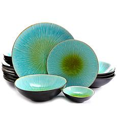 Gibson ShangriLa Court 16pc Dinnerware Set