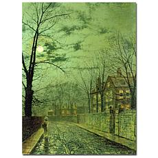 Giclee Print - A Moonlit Road