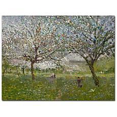 "Giclee Print - Apple Trees in Flower 32"" x 26"""