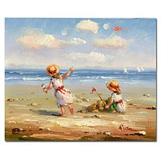 "Giclee Print - At the Beach I 26"" x 32"""