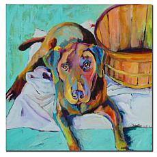 "Giclee Print - Basket Retriever 24"" x 24"""