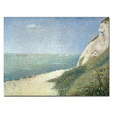 Giclee Print - Beach at Bas Butin - Honfleur (1886)
