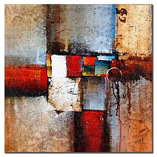 """Giclee Print - Cube Abstract VI 35"""" x 35"""""""