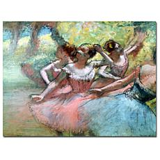 """Giclee Print - Four Ballerinas on the Stage 32"""" x 24"""""""