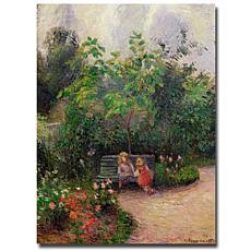 Giclee Print - Garden at the Hermitage, Pontoise, 1877
