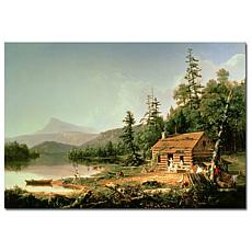 """Giclee Print - Home in the Woods 32"""" x 22"""""""