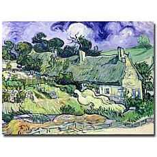 Giclee Print - Thatched Cottages at Cordeville