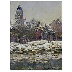 "Giclee Print -  The Church at Vetheuil 1879 24"" x 32"""