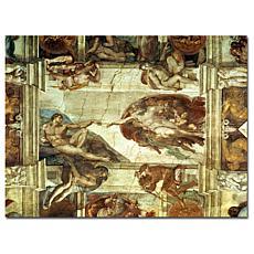 "Giclee Print - The Creation of Adam 24"" x 18"""