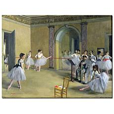 Giclee Print - The Dance Foyer at the Opera 1872