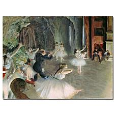 Giclee Print - The Rehearsal of Ballet Onstage 19x14