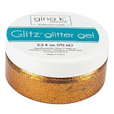 Gina K Designs Glitz Glitter Gel, 2.3oz - Sweet Mango