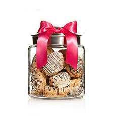 Giorgio Cookie Co. Cookies in Jar - Nickel Color Lid