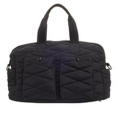 Girlfriend Gear Diamond Quilt Large Dome Carryall Bag