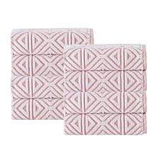 Glamour Turkish Cotton  4-piece Hand Towel Set