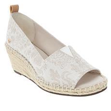 Gloria Vanderbilt Franklin Peep Toe Wedge