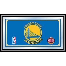 Golden State Warriors NBA Framed Logo Mirror