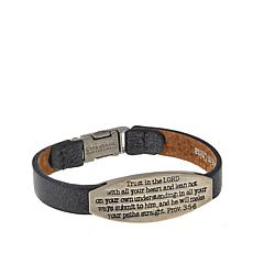 """Good Work(s) """"His Words That Give You Hope"""" Proverb 3:5-6 Bracelet"""