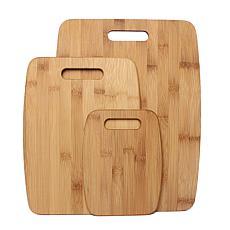 Gourmet Edge 3-piece Bamboo Cutting Board Set