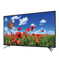 "GPX 55"" 4K Ultra HD TV with Built-In Upscaling DVD Player & HDMI Cable"
