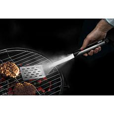 Grillight Grill Spatula w/Built-In LED Light & 2 Nonstick Grill Mats