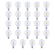 GVL 60-Watt G25 Soft White LED Bulbs 24-pack with Clear Finish
