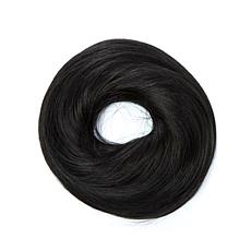 Hair2wear Messy Bun Hair Wrap- Almost Black/Ebony