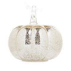 Hand-Blown Glass Pumpkin Decoration