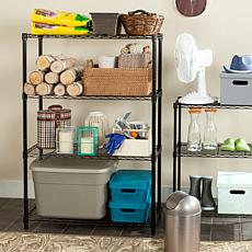 Happimess Bravo 4-Tier  Wire Rack - Chrome
