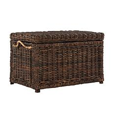 "happimess Jacob 30"" Wicker Storage Trunk"