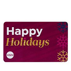 Happy Holidays $25.00 HSN Gift Card
