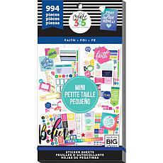 Happy Planner Mini Planner Sticker Value Pack - Faith, 994-pack