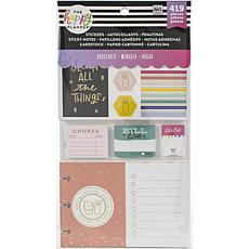Happy Planner Note Cards/Sticky Note Multi Pack - Household