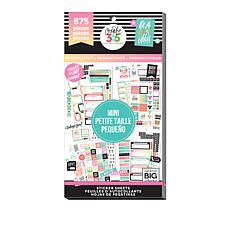 Happy Planner Sticker Value 875-Pack - Productivity Mini-Stickers