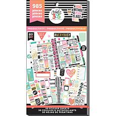 Happy Planner Sticker Value Pack - Productivity Classic