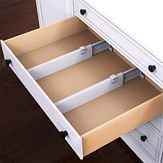 Hastings Home Expandable Drawer Dividers 2-Pack