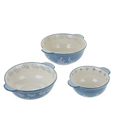 HausWarming 3-piece Ceramic Mixing Bowl Set