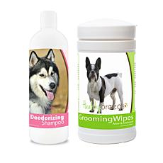 Healthy Breeds Freshen Up Deodorizing Package with Shampoo and Wipes