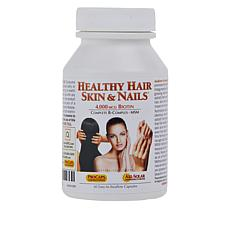Healthy Hair, Skin and Nails - 60 Capsules