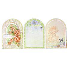 Heartfelt Creations 5x7 Gateway Fold Card - White