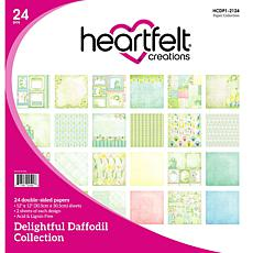 Heartfelt Creations Daffodil Paper Collection