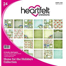 Heartfelt Creations Home for the Holidays Paper Collection