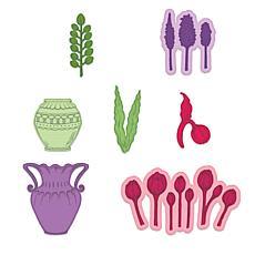 Heartfelt Creations Tulip Vase & Fillers Die Set
