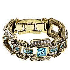 "Heidi Daus ""A Class Act"" Crystal Link Bracelet"