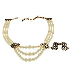 """Heidi Daus """"A Return to Grace"""" Necklace and Earrings"""