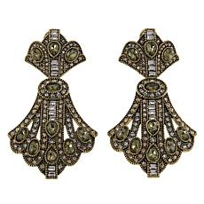 "Heidi Daus ""Age of Elegance"" Crystal Drop Earrings"